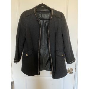 Zara Basic Tweed Jacket